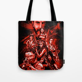 The Walking Dead Poster Tote Bag