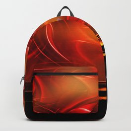Abstract perfection - Sunst Backpack