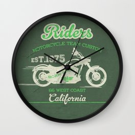 MotoBiKe RiDe 2 Wall Clock