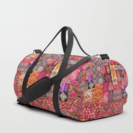 -A35- Traditional Colored Moroccan Artwork. Duffle Bag