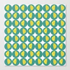 Lemon Zest Canvas Print