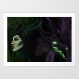 All the powers of HELL! Art Print