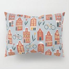 Charming Dutch Houses Pillow Sham