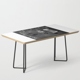 Butcher's Diagram - Chalkboard Inspired Coffee Table