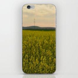 sun in the nature iPhone Skin