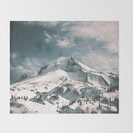 Mount Hood IV Throw Blanket