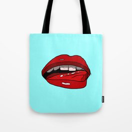 Veronica Lips Tote Bag