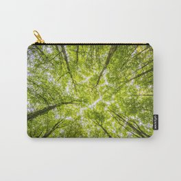 Tree Forest Sky Carry-All Pouch