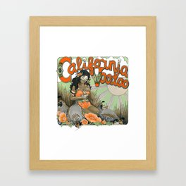California Voodoo Framed Art Print