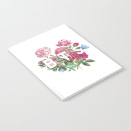 BTS Flowers Notebook