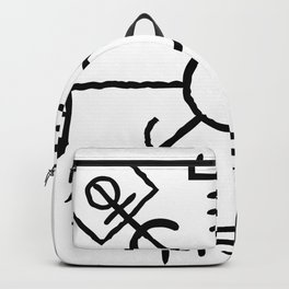 Vegvisir | BLK Backpack