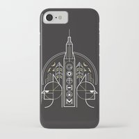 gotham iPhone & iPod Cases featuring Gotham by Aliel Arts