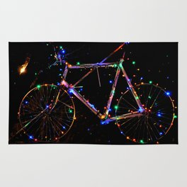 LIGHT UP MY BIKE Rug