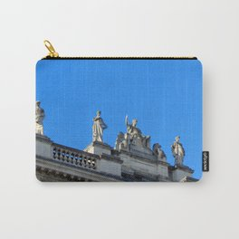 Victorian Statue in London Carry-All Pouch