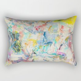 Summer Abstraction Rectangular Pillow