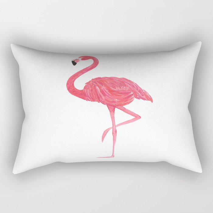 Flamingo fuchsia flap Rectangular Pillow