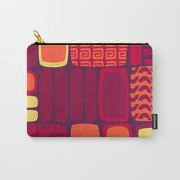 Quilted Flame Carry-All Pouch