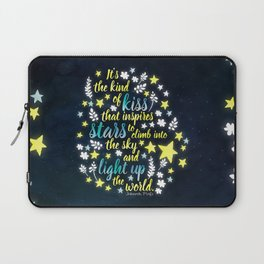 Shatter Me - Stars quote design Laptop Sleeve