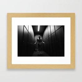 NERVES ARE NOT A CRIME Framed Art Print