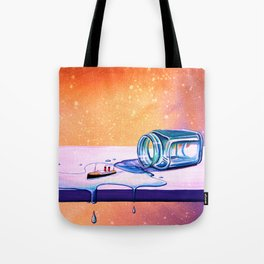 The Great Escape - Tiny Steamship Tote Bag