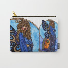 Gold and Braid Carry-All Pouch
