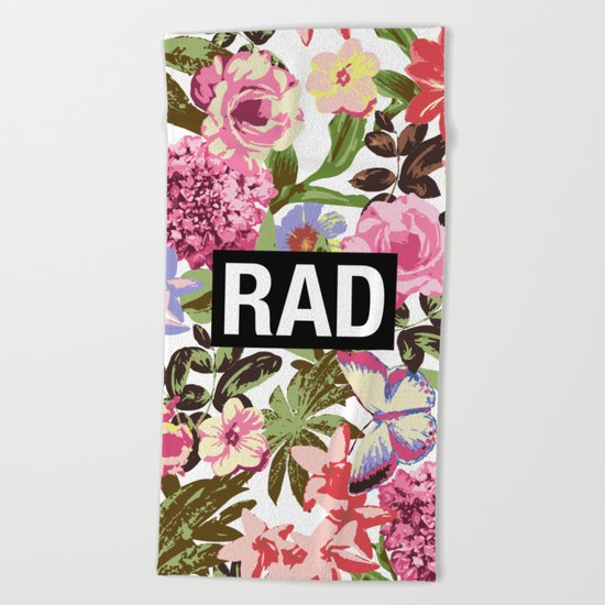 RAD Beach Towel