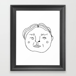 Dood // Cafe Customer Series Framed Art Print