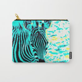 Pop Art Zebra 1 Carry-All Pouch