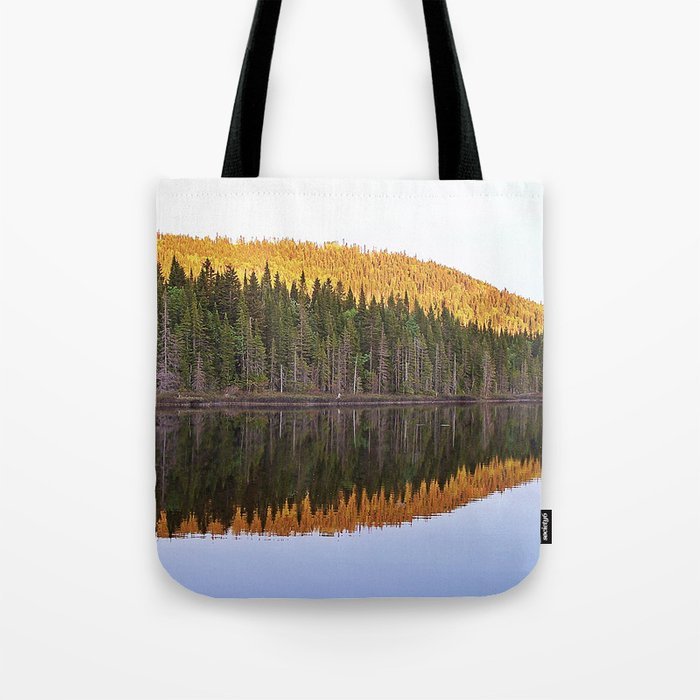 Fall Forest Reflected Tote Bag