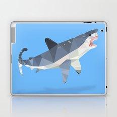 Low Poly Great White Shark Laptop & iPad Skin