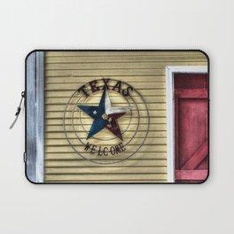 Texas Welcome Laptop Sleeve