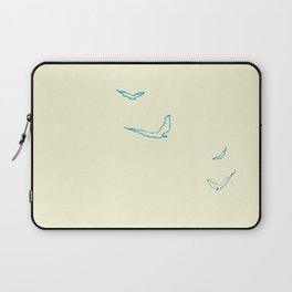 Absence Becomes Color Laptop Sleeve