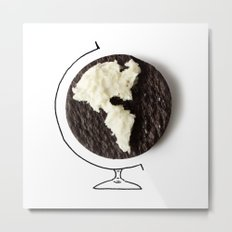 Oreo world Metal Print