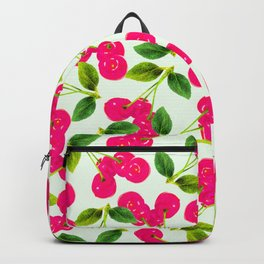 Cherry Picking #society6 #decor #buyart Backpack