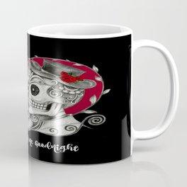 Roses Sugar Skull Couple, Always Kiss Me Goodnight Coffee Mug
