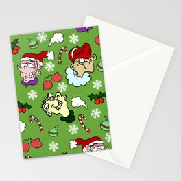 Christmas With the Ed's Pattern Stationery Cards
