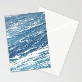 Ocean Water Waves Foam Texture Stationery Cards