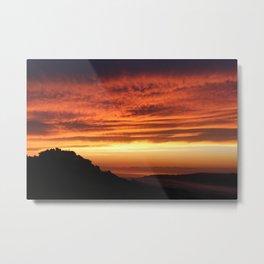 Montefiore dell'Aso Sunrise (2 of 2) Metal Print