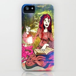 Reading a Good Book iPhone Case