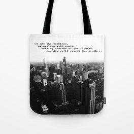 Youth in the City (buildings chicago) Tote Bag