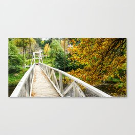 Warburton Swing Bridge, Victoria Canvas Print