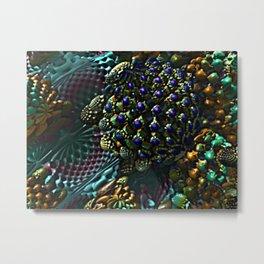 Colorful Fruity Jewels Metal Print