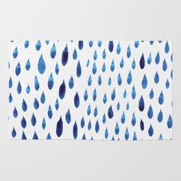 raindrops Rug