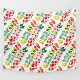 Sushi Collection Wall Tapestry