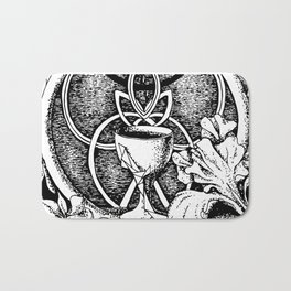 Goblet of space Bath Mat