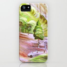 Emily Carr - Surge of Spring - Canada, Canadian Oil Painting - Group of Seven iPhone Case