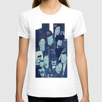 blade runner T-shirts featuring Blade Runner by Ale Giorgini