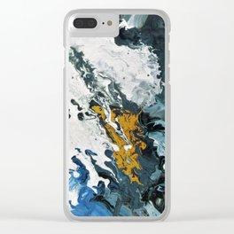 Sleeping Satellte Clear iPhone Case
