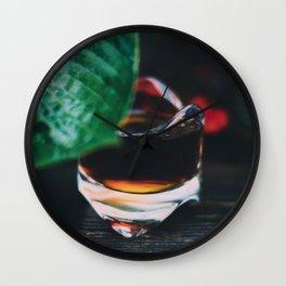 Shot of Espresso Wall Clock