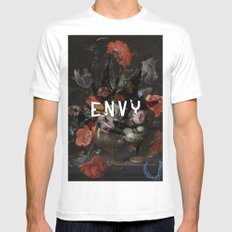 Envy White Mens Fitted Tee MEDIUM